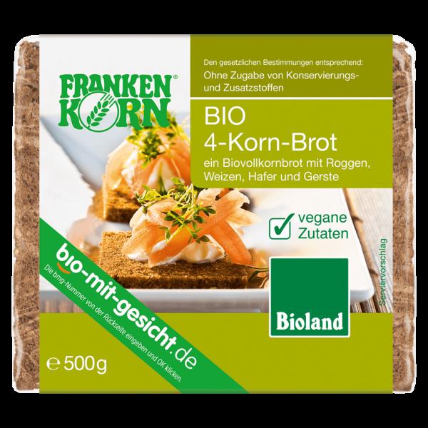 Frankenkorn Bio 4-Korn-Brot