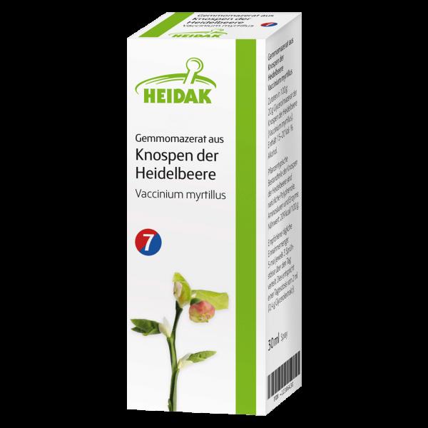 Heidak Gemmomazerat aus Knospen der Heidelbeere, 30ml
