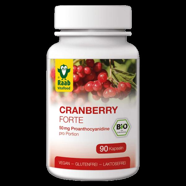 Raab Vitalfood Bio Cranberry Forte