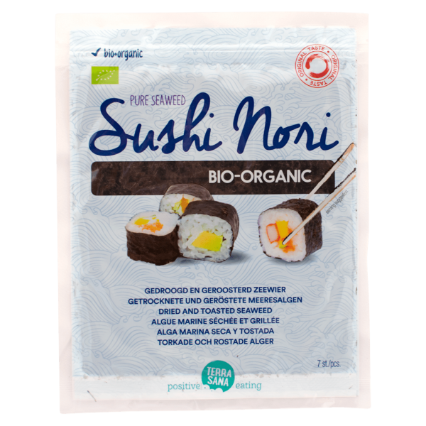 TerraSana Bio Sushi Nori, 7 Blätter