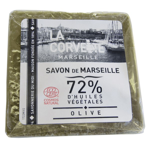 La Corvette Savon de Marseille Olive Block, 300g