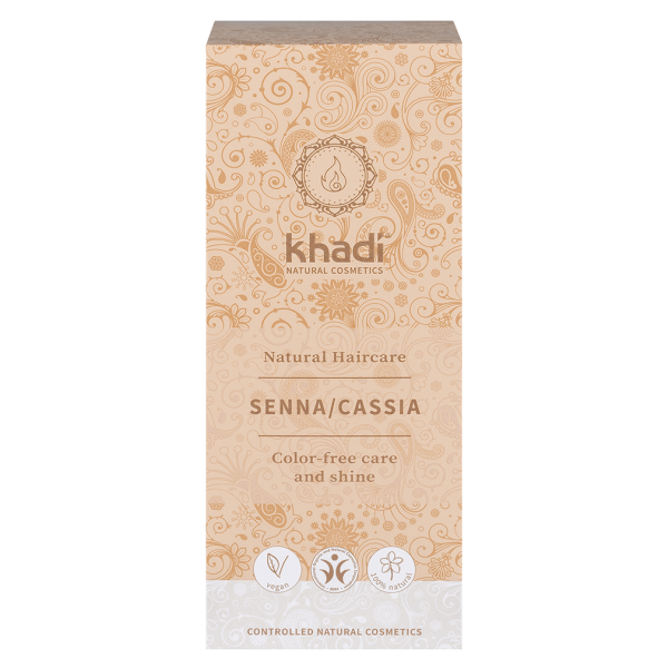 Khadi Pflanzenhaarfarbe Senna/Cassia Farblos