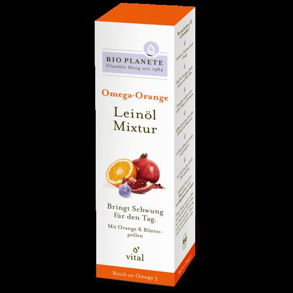 Bio Planète Bio Omega Orange Leinöl-Mixtur, 100ml
