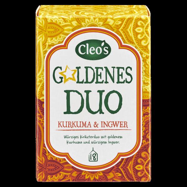 Cleo's Bio Goldenes Duo Tee