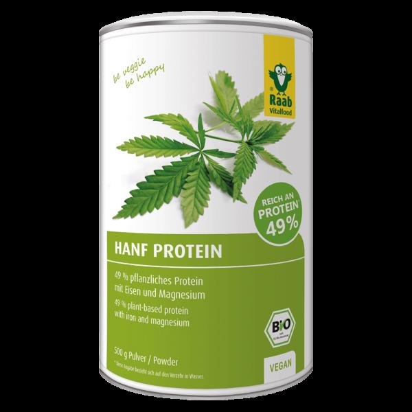 Raab Vitalfood Bio Hanfproteinpulver, 500g