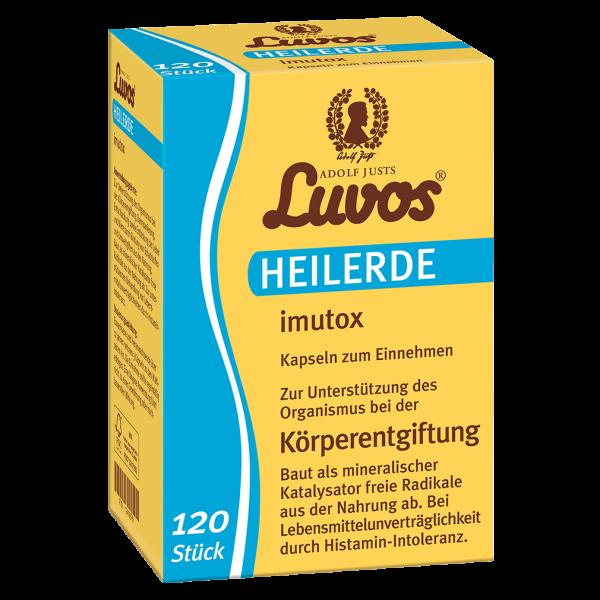 Luvos Heilerde imutox Kapseln, 120 Stück