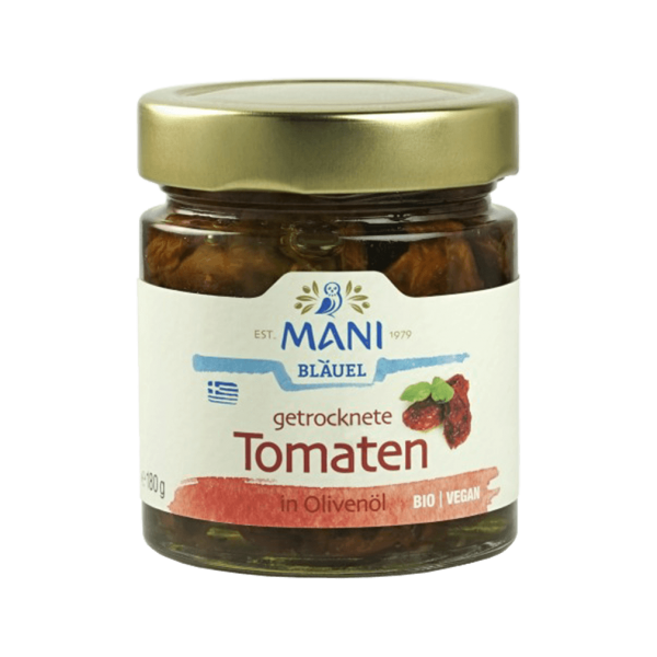 Bio Getrocknete Tomaten in Olivenöl