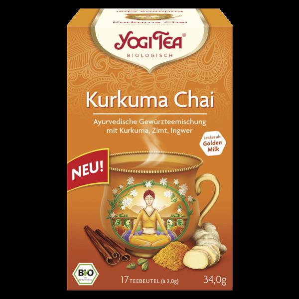 Yogi Tea Bio Kurkuma Chai Tee