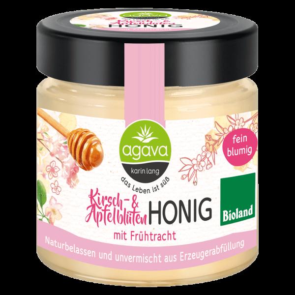 agava Bio Kirsch- und Apfelblüten Honig