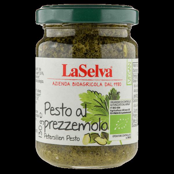 LaSelva Bio Pesto Petersilie Prezzemolo