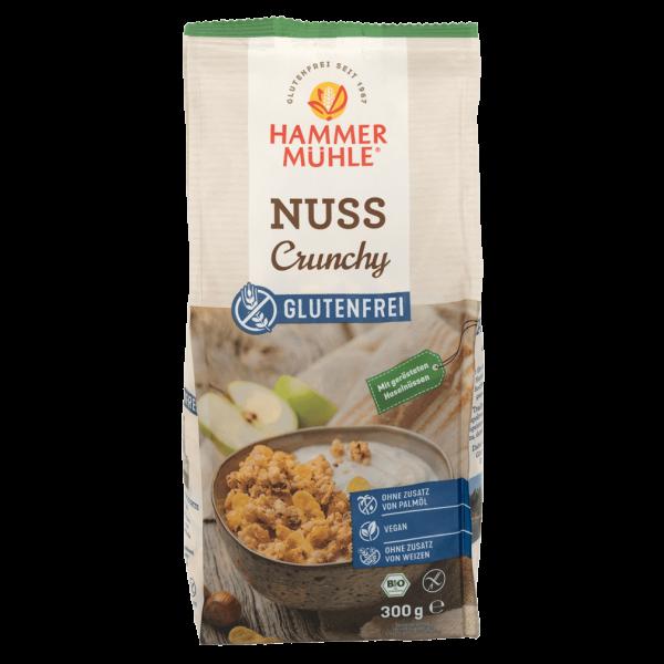 Hammer Mühle Bio Nuss Crunchy glutenfrei, 300g