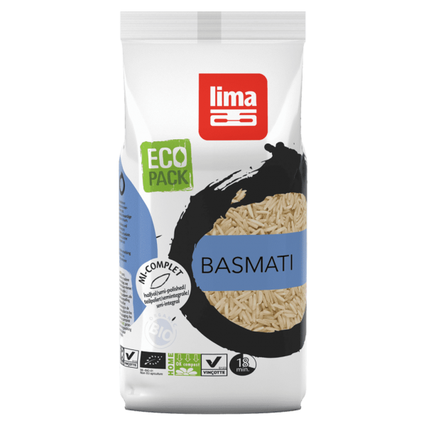 Lima Bio Basmati Reis teilpoliert