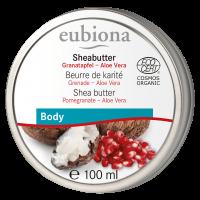 Eubiona Sheabutter mit Granatapfel & Aloe Vera