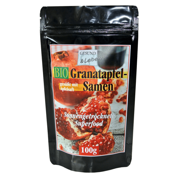 Gesund & Leben Bio Granatapfelsamen
