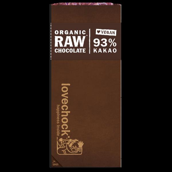 Bio Raw 93 % Pur Kakao Rohschokolade