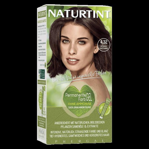 Naturtint Haarfarbe 4.32 Intensiv Kastanien