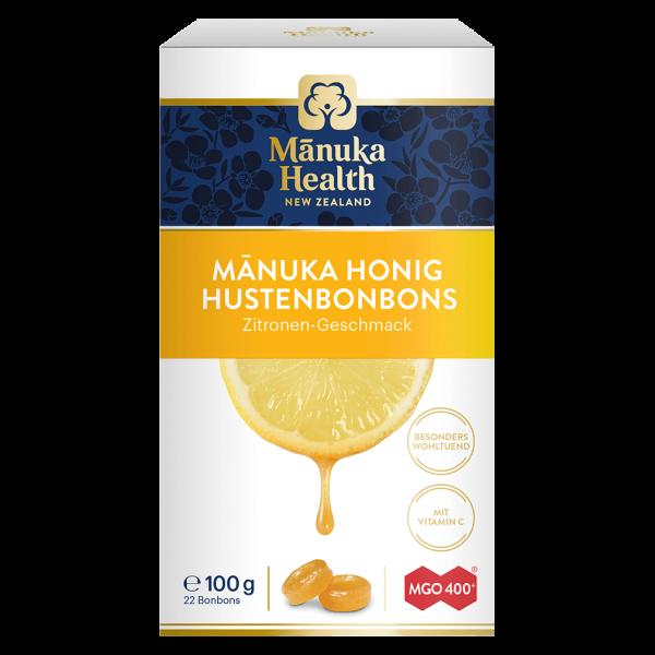 Manuka Health Hustenbonbons Zitrone