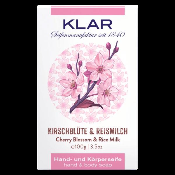 Klar Seifen Kirschblüten & Reismilch Seife