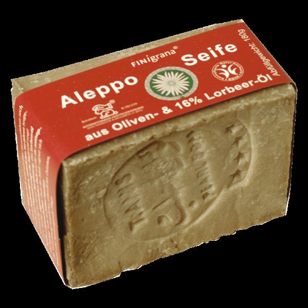 Alepposeife mit Olive & 16% Lorbeeröl