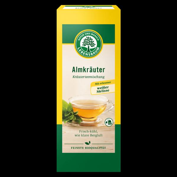 Lebensbaum Bio Almkräuter Tee
