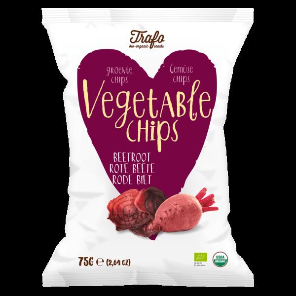 Trafo Bio Gemüse Chips Rote Bete