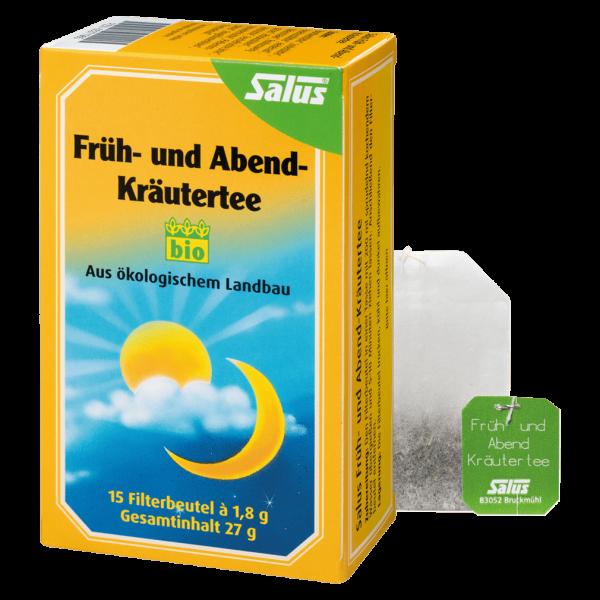 Salus Bio Früh- und Abend-Kräutertee