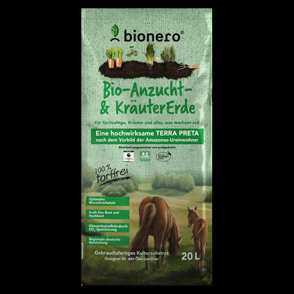 bionero  Bio-Anzucht-& Kräuter Erde