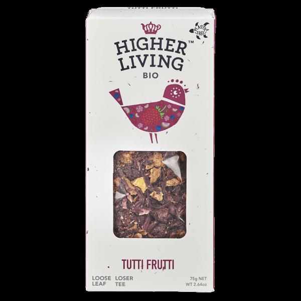Higher Living Bio Tutti Frutti Tee
