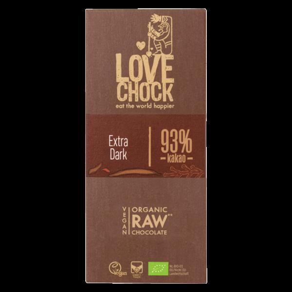 Bio Raw 93% Pur Kakao Rohschokolade