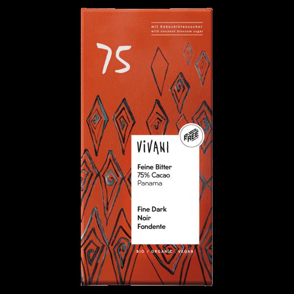 Vivani Bio Feine Bitter 75% Cacao