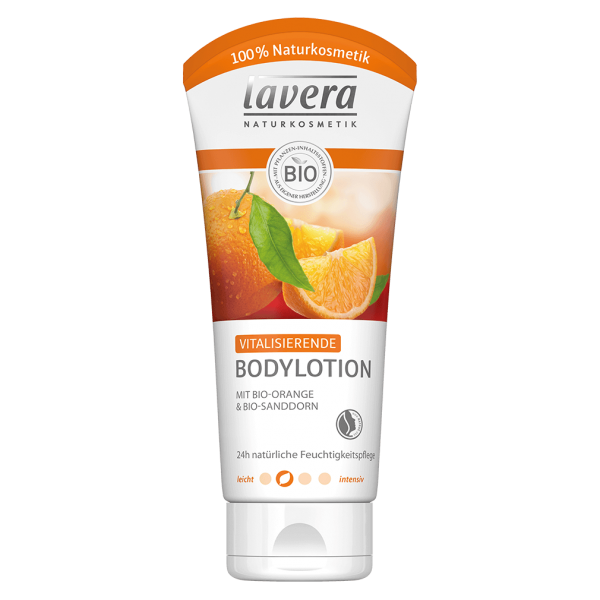 Lavera Naturkosmetik Vitalisierende Bodylotion Orange & Sanddorn