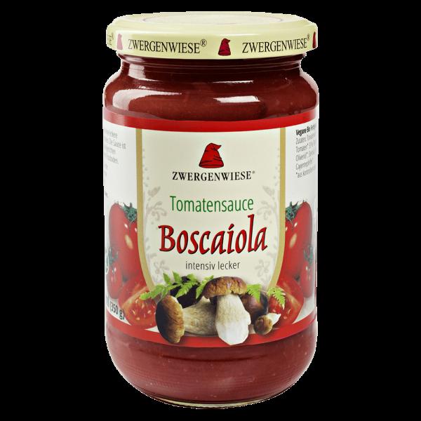 Zwergenwiese Bio Tomatensauce Boscaiola