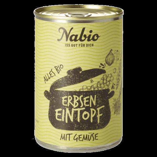 NAbio Bio Erbsen Eintopf