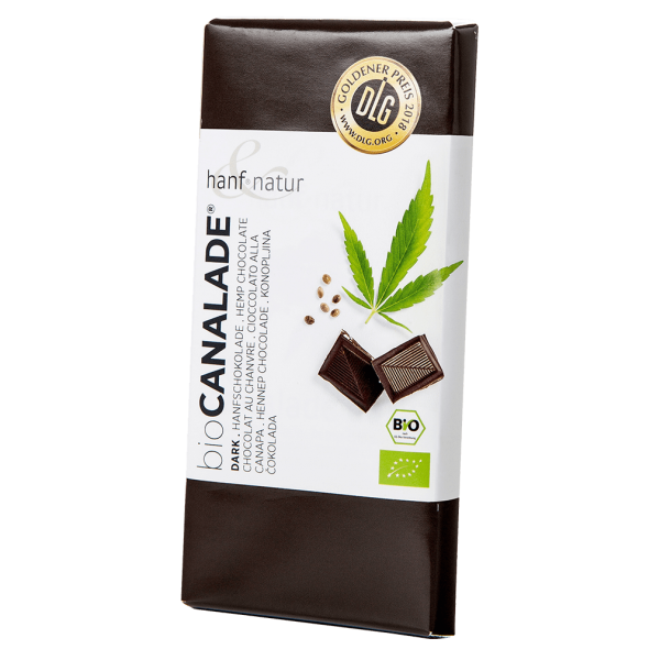 Bio Dunkle Hanf-Schokolade