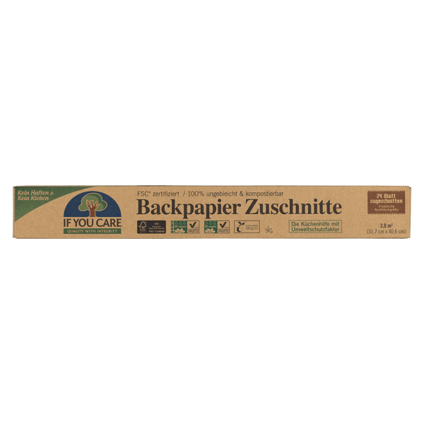 If You Care Backpapier Zuschnitte