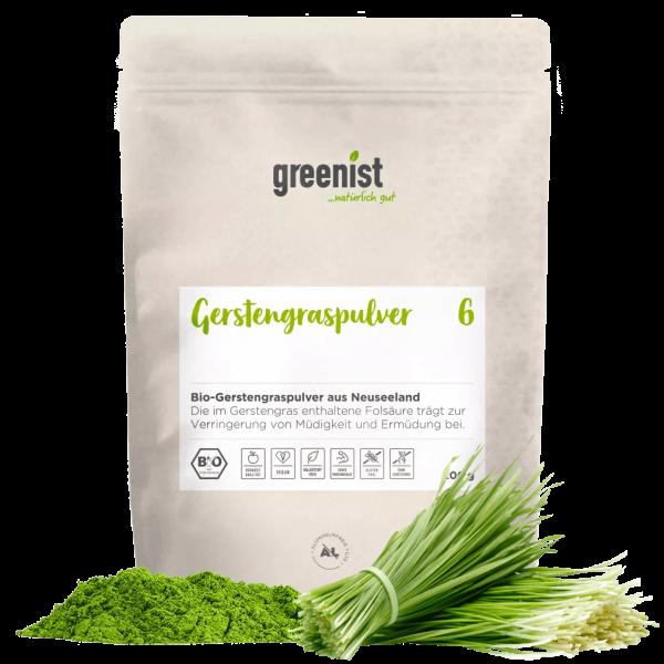 greenist Bio Gerstengraspulver