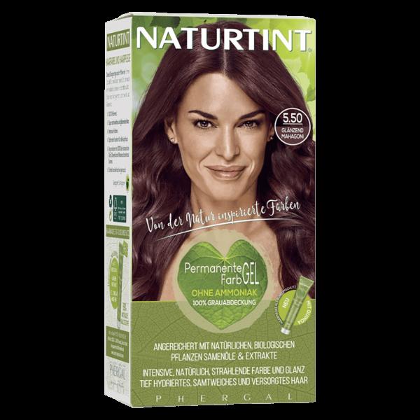 Naturtint Haarfarbe 5.50 Glänzend Mahagoni