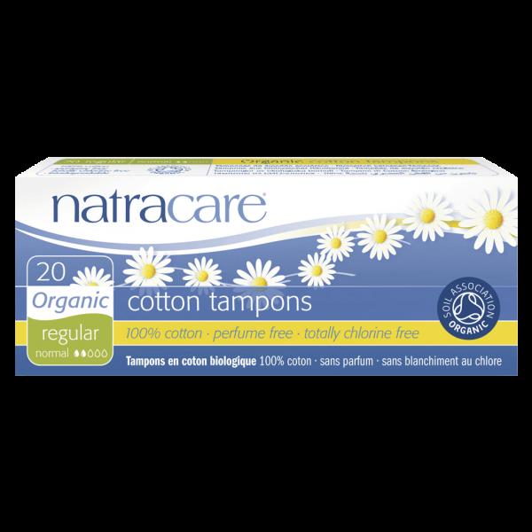 Natracare Bio Baumwoll Tampons Normal