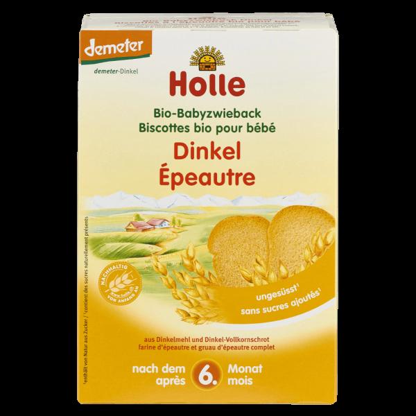 Holle Bio Babyzwieback Dinkel, 200g
