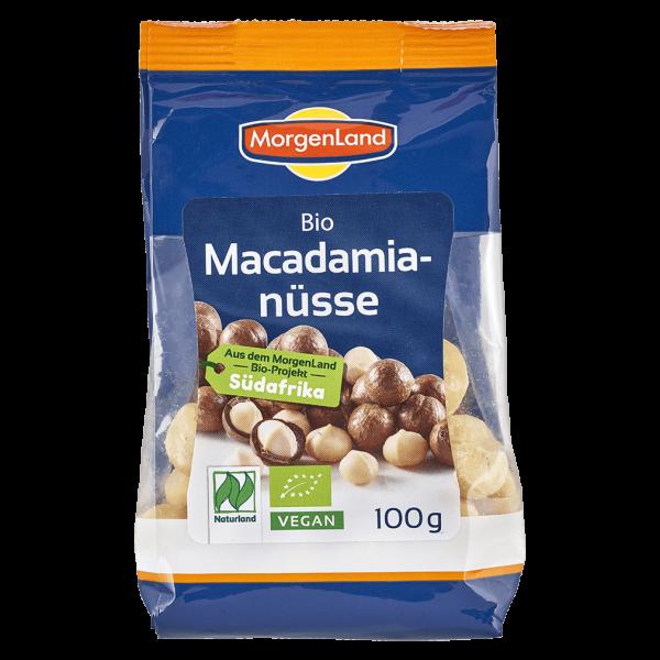 MorgenLand Bio Macadamianüsse ungeröstet