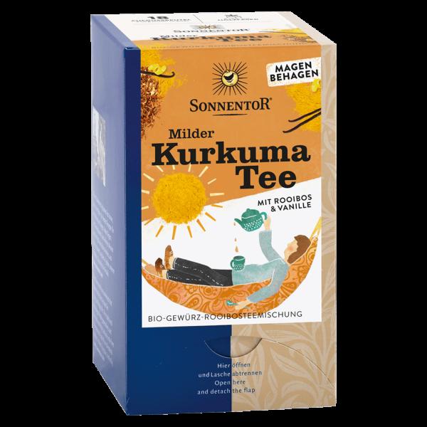 Bio Kurkuma-Tee mit Rooibos und Vanille, 18Btl