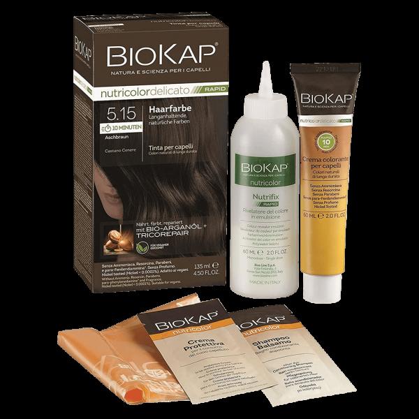BioKap Haarfarbe Aschbraun Nr. 5.15