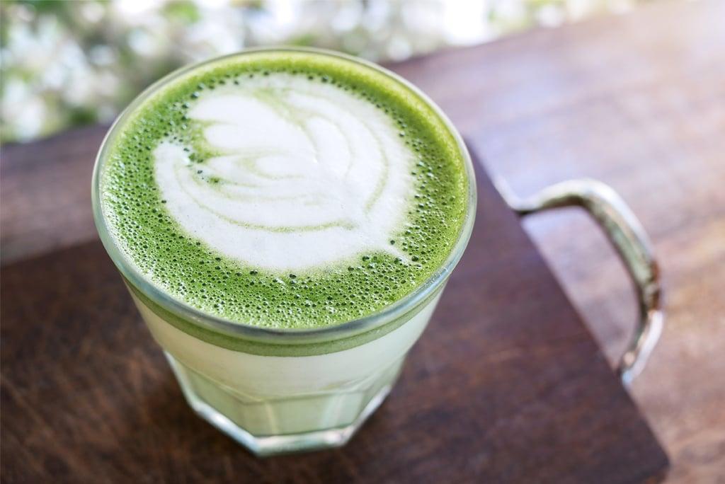Moringa morning latte
