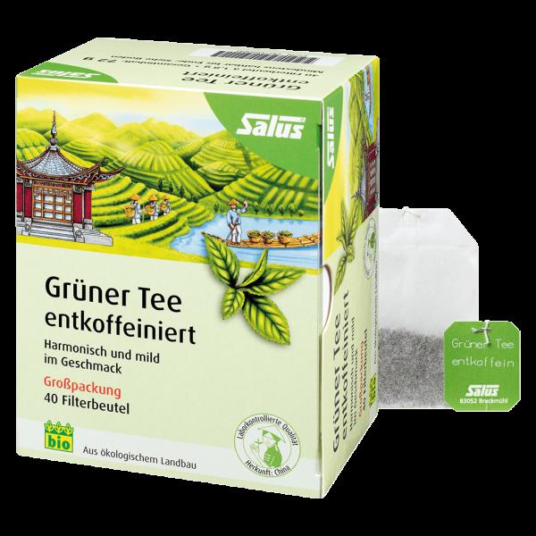 Salus Bio Grüner Tee entkoffeiniert
