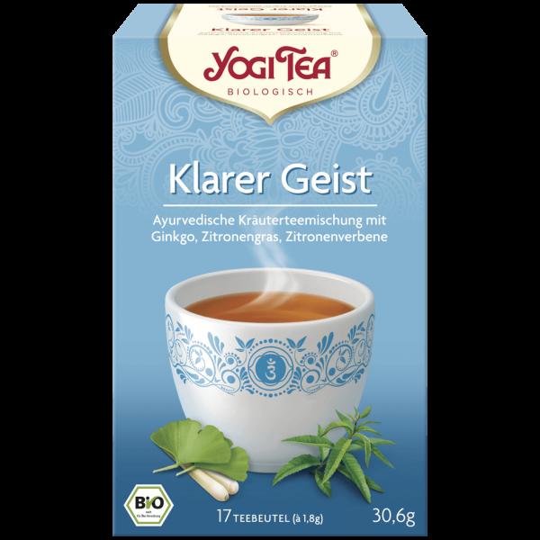 Bio Klarer Geist Tee