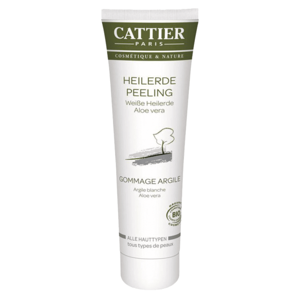 Cattier Weiße Heilerde Peeling für alle Hauttypen, 100 ml