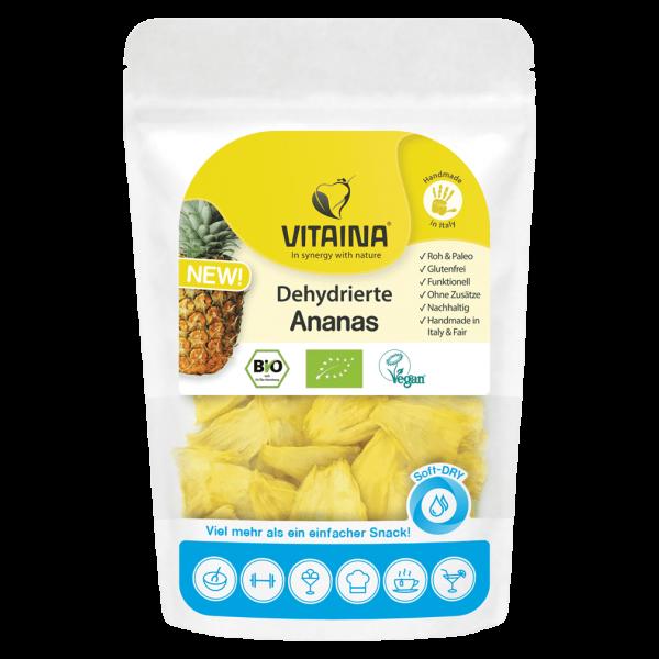 VITAINA Bio Dehydrierte Ananas
