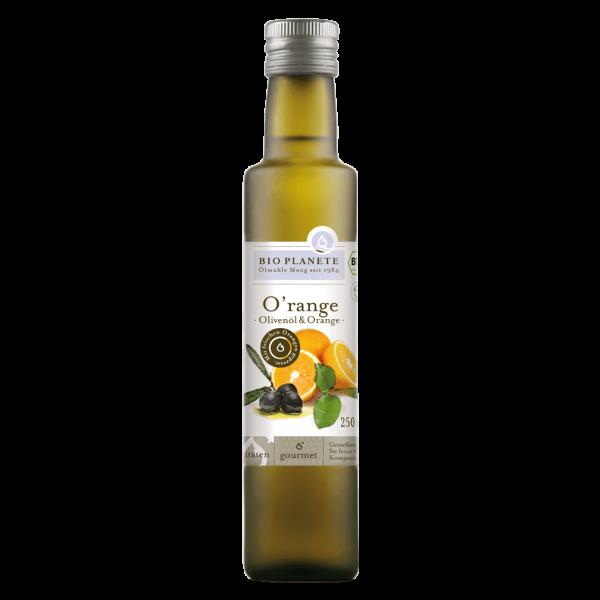 Bio Planète Bio O'range Olivenöl & Orange, 250 ml