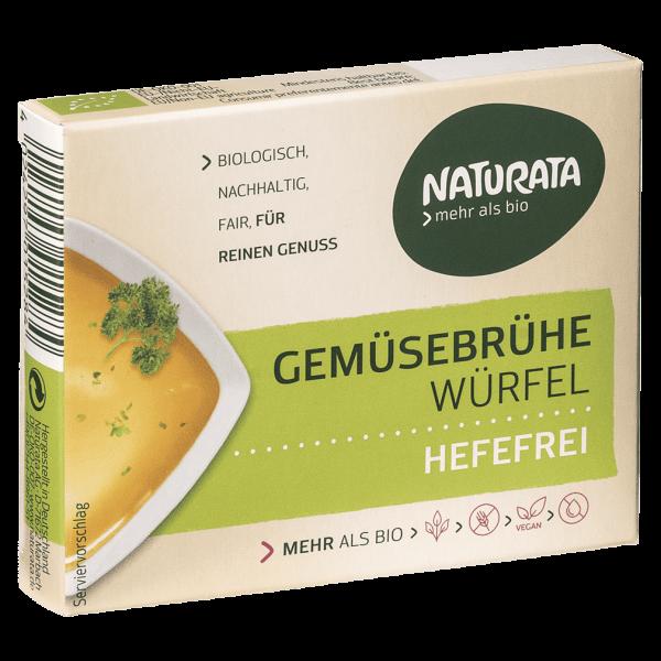 Naturata Bio Gemüse-Brühwürfel hefefrei