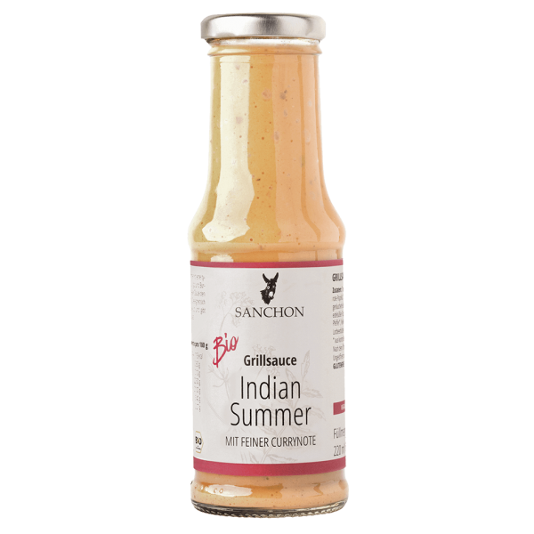 Sanchon Bio Indian Summer Curry Sauce